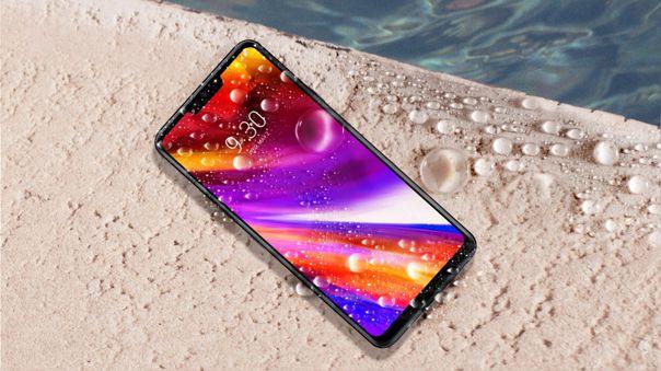 El LG G7 ThinQ. La marca coreana compartió los peores resultados con Sony.
