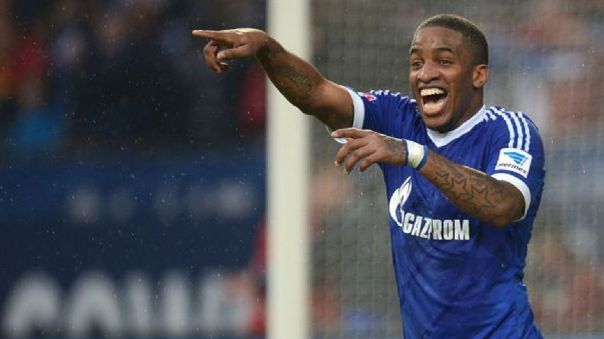 Rafinha jugó con Jefferson Farfán en Schalke 04