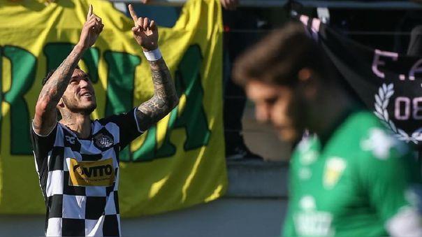 Gustavo Dulanto fue titular en Boavista ante Benfica