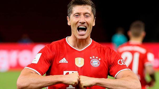 Robert Lewandowski es el goleador de la temporada del Bayern Munich