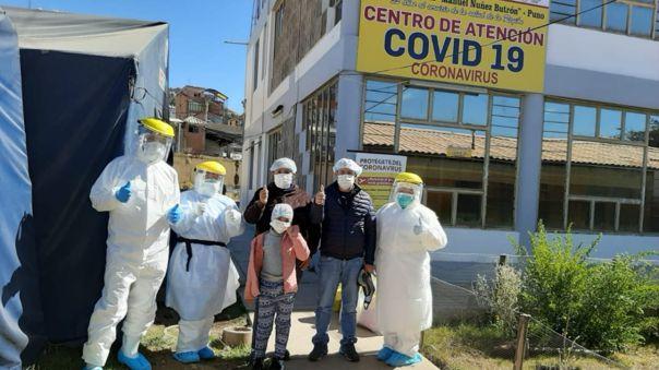 Familia venció el nuevo coronavirus en Puno