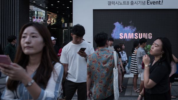 FILES-SKOREA-SAMSUNG