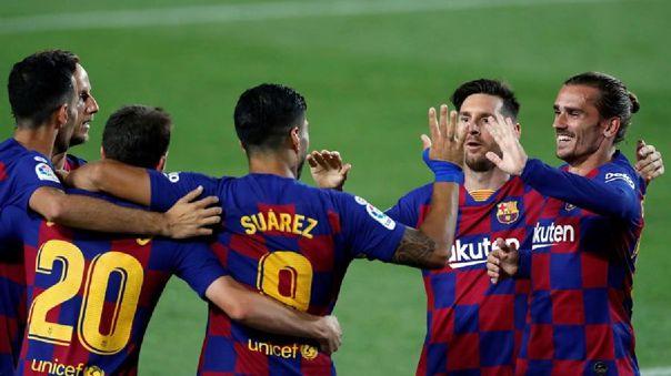 Barcelona vs. Espanyol por LaLiga