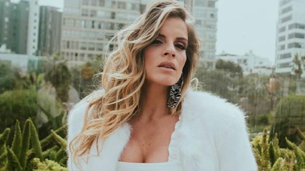 Alejandra Baigorria envía mensaje en Instagram.