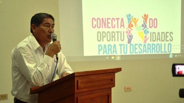 Gobernador de Huánuco, Juan Alvarado Cornelio, se contagio de la COVID-19