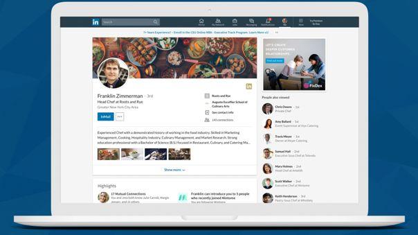 Novedades para los perfiles de LinkedIn.
