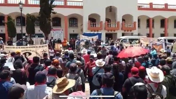 Protesta Chiapas