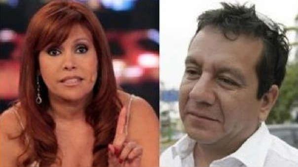 Magaly Medina y Ney Guerrero