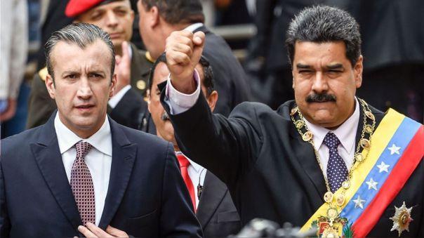 El Aissami - Maduro