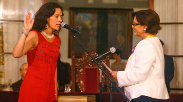 Marisa Glave (izquierda) fue regidora durante la gestión de Susana Villarán (derecha).