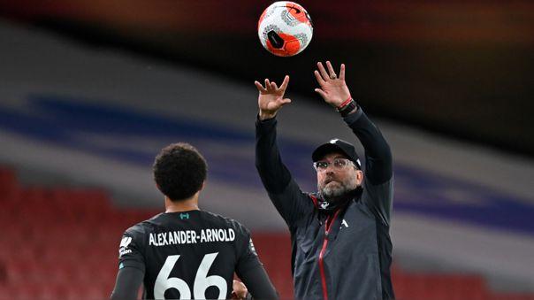 Liverpool perdió 2-1 ante Arsenal en la Premier League