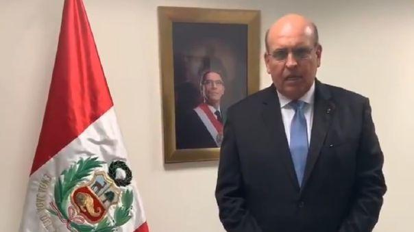Mario López fue embajador de Perú en Panamá.