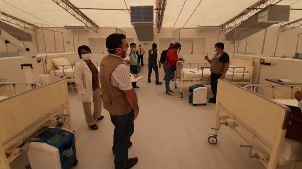 Hospital temporal de Piura funcionará la próxima semana.