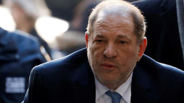 Weinstein  fue condenado el pasado 11 de marzo a 23 años de prisión en Nueva York