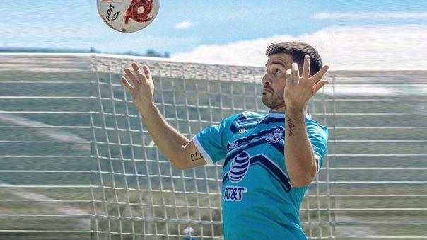 Bernardo Cuesta ya entrena con Puebla