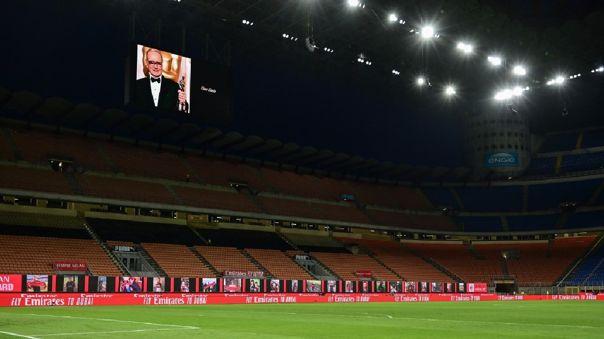 Los partidos de la temporada 2019-2020 de la Serie A, que se reanudaron tras el parón sanitario el 20 de junio, seguirán a puerta cerrada.