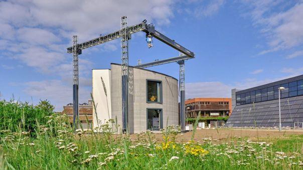 Bélgica es el primer país en Europa donde se construye un casa de varias alturas impresa en 3D