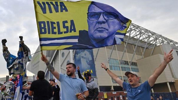 Marcelo Bielsa logró el ascenso a la Premier League con Leeds United
