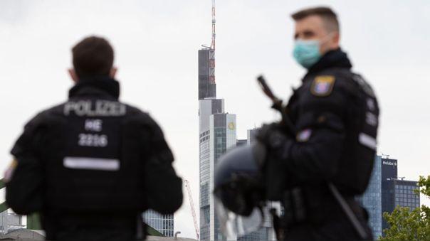 Policias en Alemania
