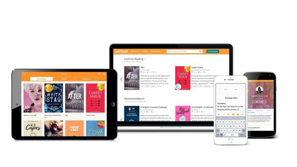 Plataforma de publicación de textos Wattpad