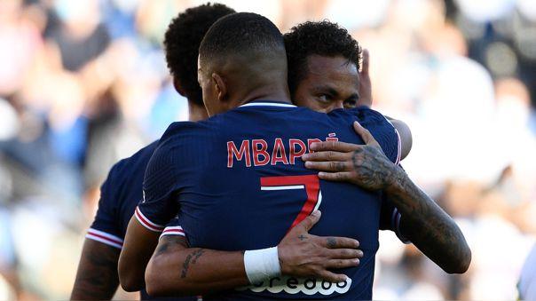 55 segundos y golazo del PSG: la fantasía entre Neymar y Mbappé de la que hablan todos en Europa