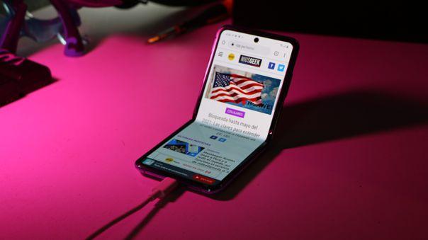 El nuevo Z Flip ahora tiene conectividad 5G