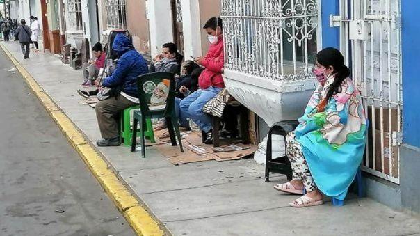 Colapso de hospitales en Trujillo