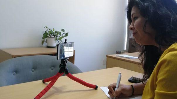 Sachenka Ardiles, la peruana que brindó atención psicológica gratuita durante la emergencia