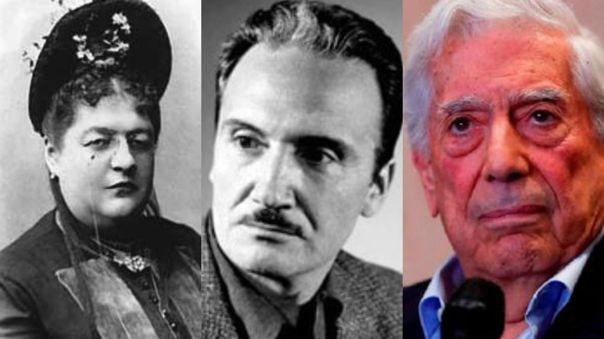 Clorinda Matto de Turner, Jose María Arguedas y Mario Vargas Llosa