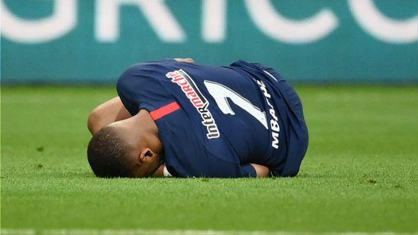 Paris Saint-Germain confirmó lesión y tiempo de baja de Kylian Mbappé