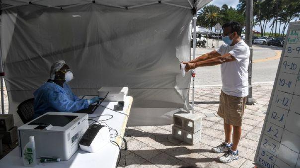 La cuarta parte de los casos de Florida se concentran en Miami, el actual epicentro de la pandemia en el país.