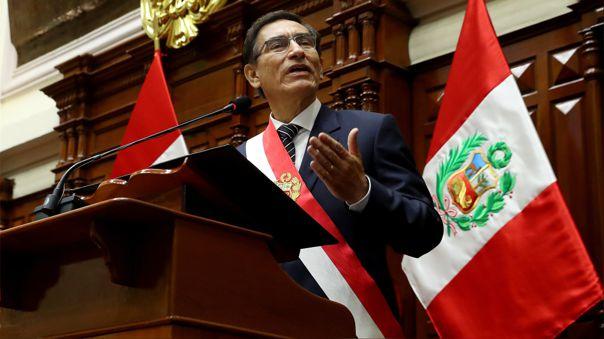 Discurso de Orden pronunciado por el Presidente de la República