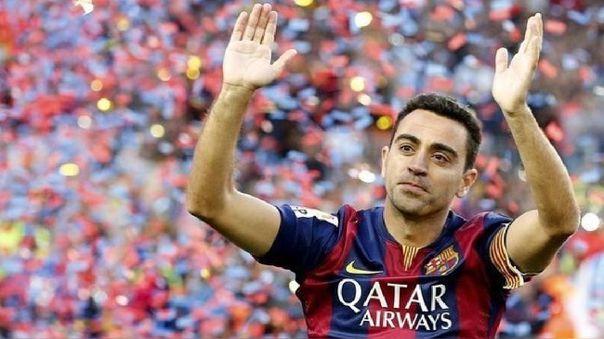 Xavi Hernández jugó en Barcelona hasta el 2015