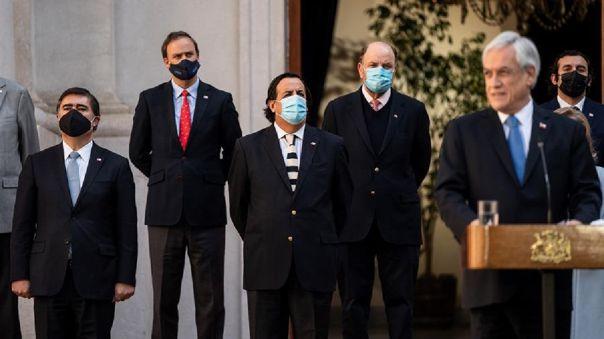 Se trata del quinto cambio de gabinete desde que Piñera llegó al poder en marzo de 2018 para su segundo mandato no consecutivo.