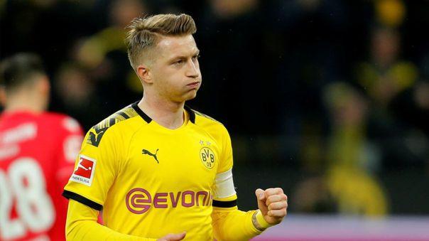 Marco Reus lleva ocho temporadas en Borussia Dortmund