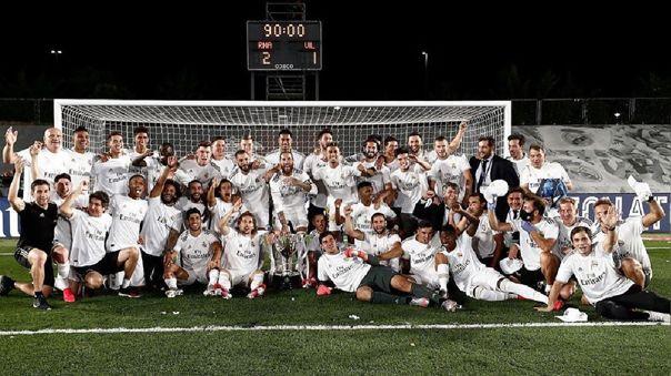 Real Madrid fue campeón de LaLiga 2019-20