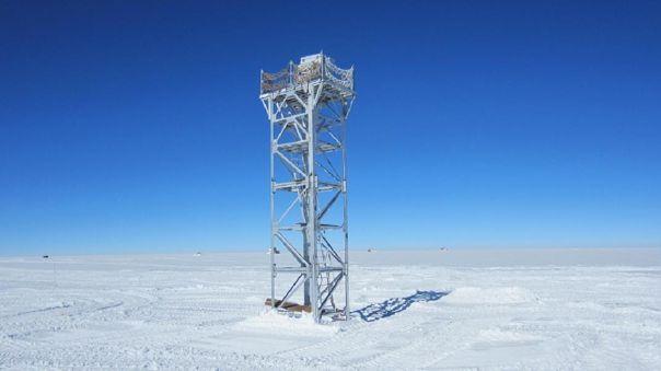 La meseta antártica podría ofrecer la vista más clara en la Tier