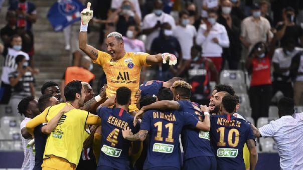 PSG es el campeón de la Copa de la Liga 2020