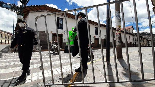 Contagios COVID-19 en Cusco