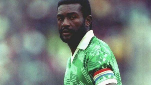 Stephen Tataw fue el capitán de Camerún en el Mundial Italia 1990