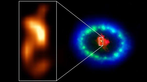 Las imágenes en resolución extremadamente alta de ALMA revelaron