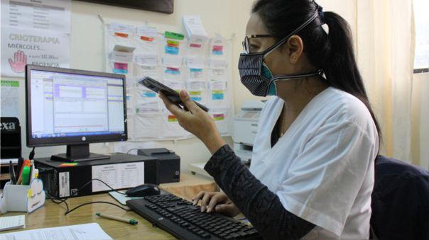 Servicio de Telemedicina ya se aplica en el hospital Belén de Trujillo.