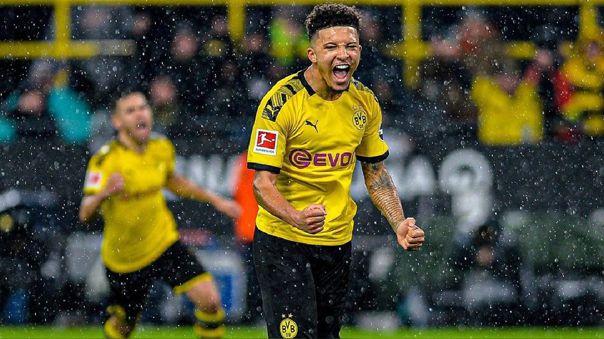 Jadon Sancho tiene contrato con Borussia Dortmund hasta 2022