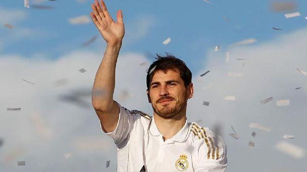 Iker Casillas jugó 725 partidos con Real Madrid