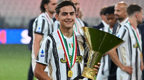 Paulo Dybala marcó 11 goles con Juventus en la Serie A 2019-20
