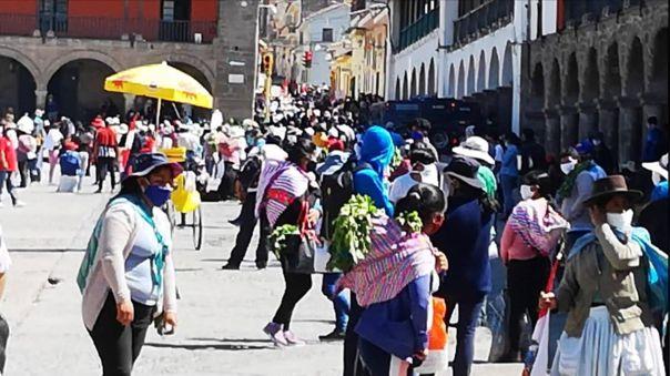Autoridades piden que Ayacucho tenga una cuarentena focalizada.
