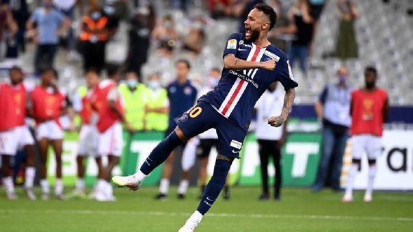 Neymar llegó a PSG en 2022