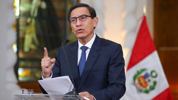 El mandatario indicó que aceptó la decisión del Congreso de no brindar el voto de confianza al gabinete de Pedro Cateriano.