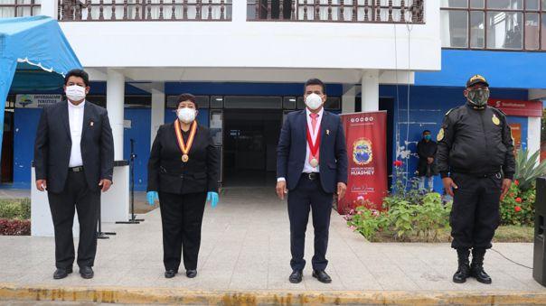autoridades de Huarmey
