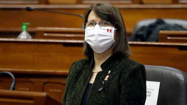 La ministra de Salud precisó que se deben considerar las cifras del Sinadef ya que son las más reales.